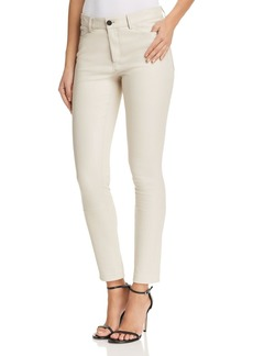 Theory Bristol Skinny Leather Pants