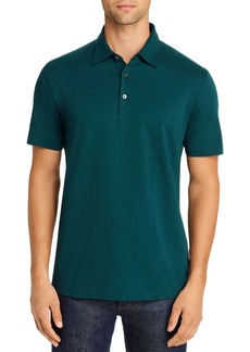 Theory Bron C Regular Fit Polo Shirt