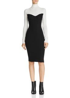 Theory Bustier Sweater Dress
