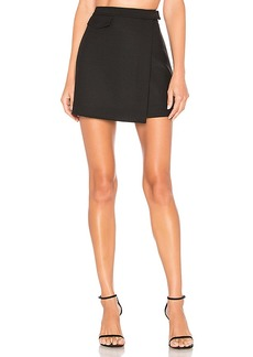 Theory Canton Snap Mini Skirt