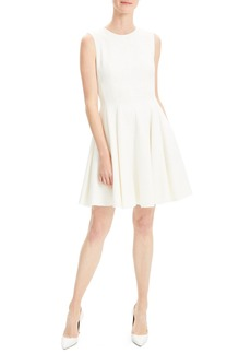 Theory Canvas Fit & Flare Dress