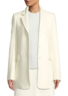 57e3267dc1 Theory Theory Essential One-Button Stretch-Wool Jacket | Outerwear