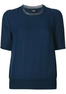 Theory casual shortsleeved blouse - Blue