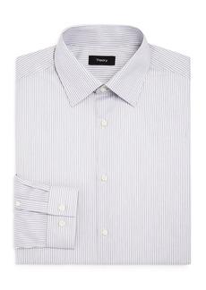 Theory Cedrick Boca Stripe Slim Fit Dress Shirt
