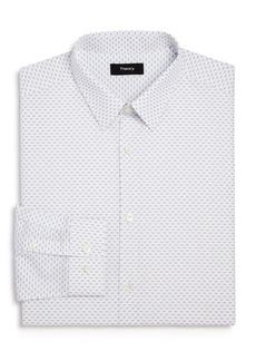 Theory Cedrick Chevron Print Slim Fit Dress Shirt