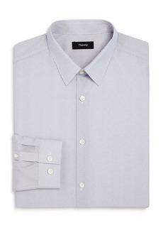 Theory Cedrick Lattice Print Slim Fit Dress Shirt