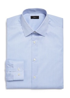 Theory Cedrick Nassau Stripe Slim Fit Dress Shirt