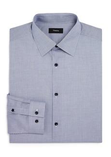 Theory Cedrick Zino Micro Solid Slim Fit Dress Shirt