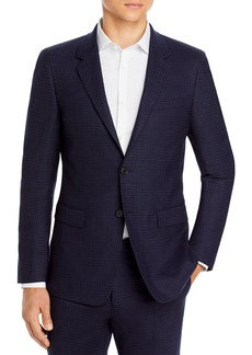 Theory Chambers Micro Check Slim Fit Suit Jacket