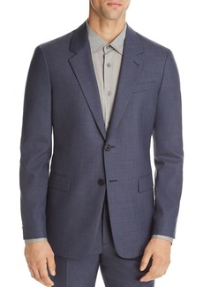 Theory Chambers Sharkskin Slim Fit Suit Jacket