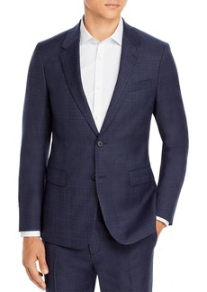 Theory Chambers Tonal Plaid Slim Fit Suit Jacket