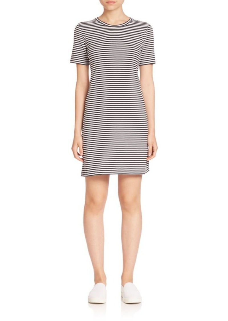 Theory Cherry Everyday Striped Dress
