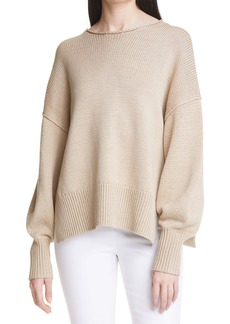 Theory Chunky Slit Hem Sweater