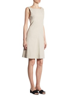 Theory Cicieema Cutout Poplin Dress
