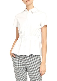 Theory Cinched Waist Shirt