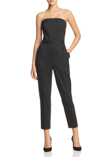 Theory City Strapless Jumpsuit