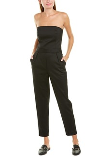 Theory City Tux Wool-Blend Jumpsuit