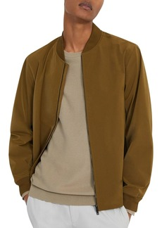 Theory City Water-Resistant Slim Fit Bomber Jacket