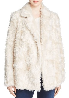 Theory Clairene Faux-Fur Coat