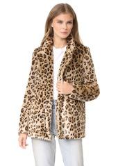Theory Clairene FB Faux Fur Coat
