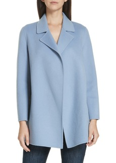 Theory Clairene New Divide Wool & Cashmere Coat