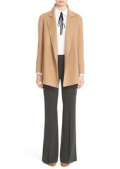 Theory 'Clairene New Divide' Wool & Cashmere Open Front Topper