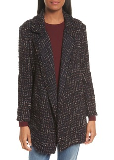 Theory Clairene RB Tweed Bouclé Coat