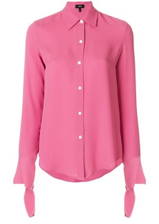 Theory classic buttoned shirt - Pink & Purple