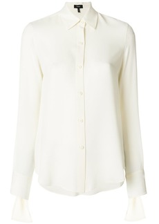 Theory classic buttoned shirt - White