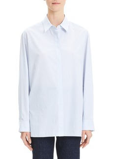 Theory Classic Menswear Cotton Shirt
