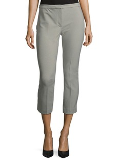 Theory Classic Skinny Straight-Leg Ankle Pants
