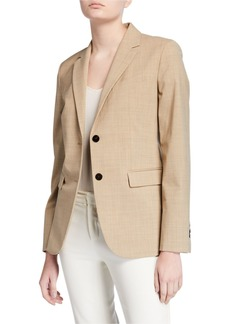 Theory Classic Two-Button Blazer