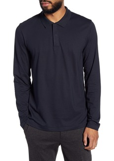 Theory Clean Gamma Regular Fit Jacquard Polo