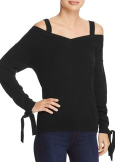 Theory Cold-Shoulder Cashmere Sweater - 100% Exclusive