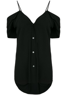 Theory cold shoulder top - Black