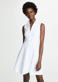 Theory Collared Flare Dress