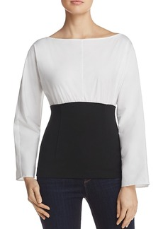Theory Color-Block Top