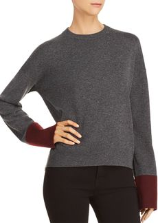 Theory Color-Block Wool & Cashmere Sweater - 100% Exclusive