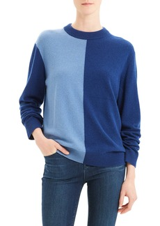 Theory Colorblock Cashmere Sweater