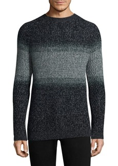 Theory Colorblocked Wool Sweater