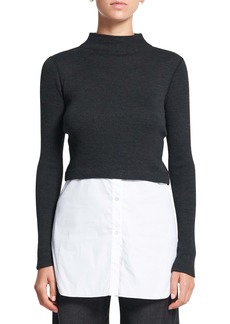 Theory Combo Tunic Sweater