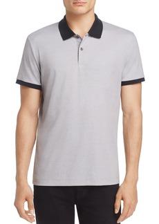 Theory Contrast-Trim Piqu� Slim Fit Polo Shirt