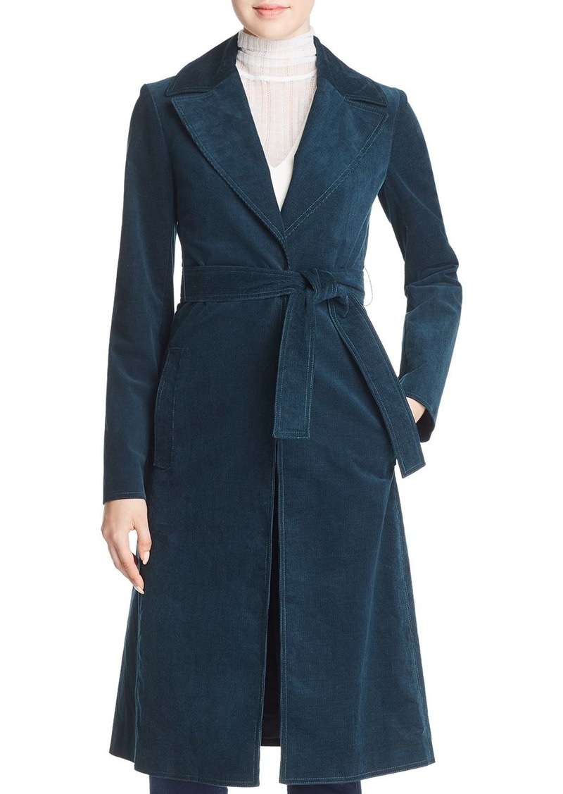 quality and quantity assured 100% high quality online retailer Corduroy Trench Coat