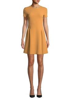 Theory Corset Tee Admiral Crepe Short Dress