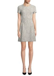 Theory Corset Tee Arbour-Tweed Dress