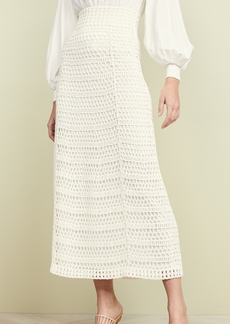 Theory Crochet Skirt