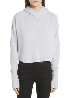 Theory Crop Sweater Hoodie