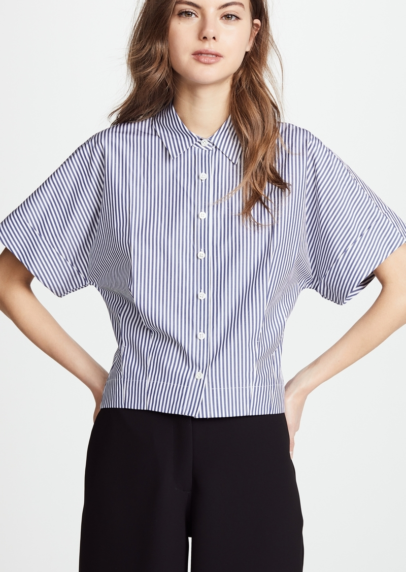 247bb944 Theory Theory Cropped Button Down Shirt | Casual Shirts