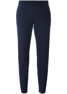 Theory cropped flared trousers - Blue