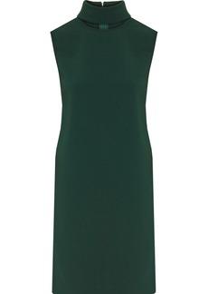 Theory Cutout crepe mini dress